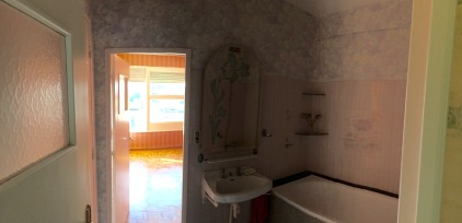 Salle de bain d'origine